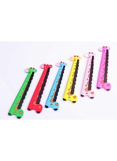 2'li Ahşap Zürafa Cetvel Seti-Learning Toys
